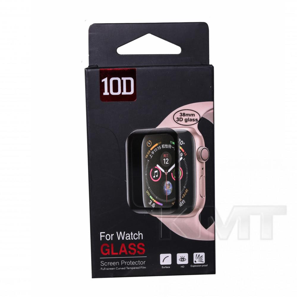 Защитное стекло 3D Apple Watch 38 mm (Clear)