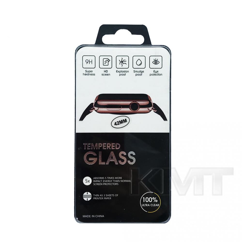Защитное стекло Full Apple Watch 42 mm (Clear)